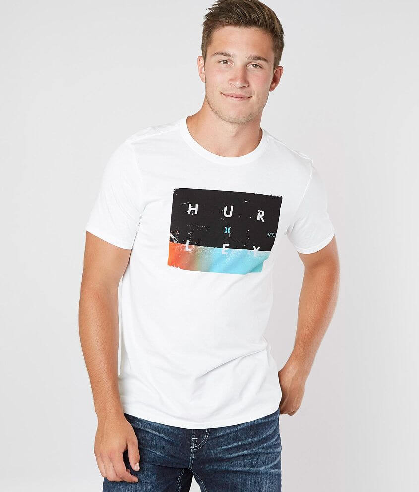 Hurley Breaking Set T-Shirt - Men s T-Shirts in White   Buckle 81ce96c9a1