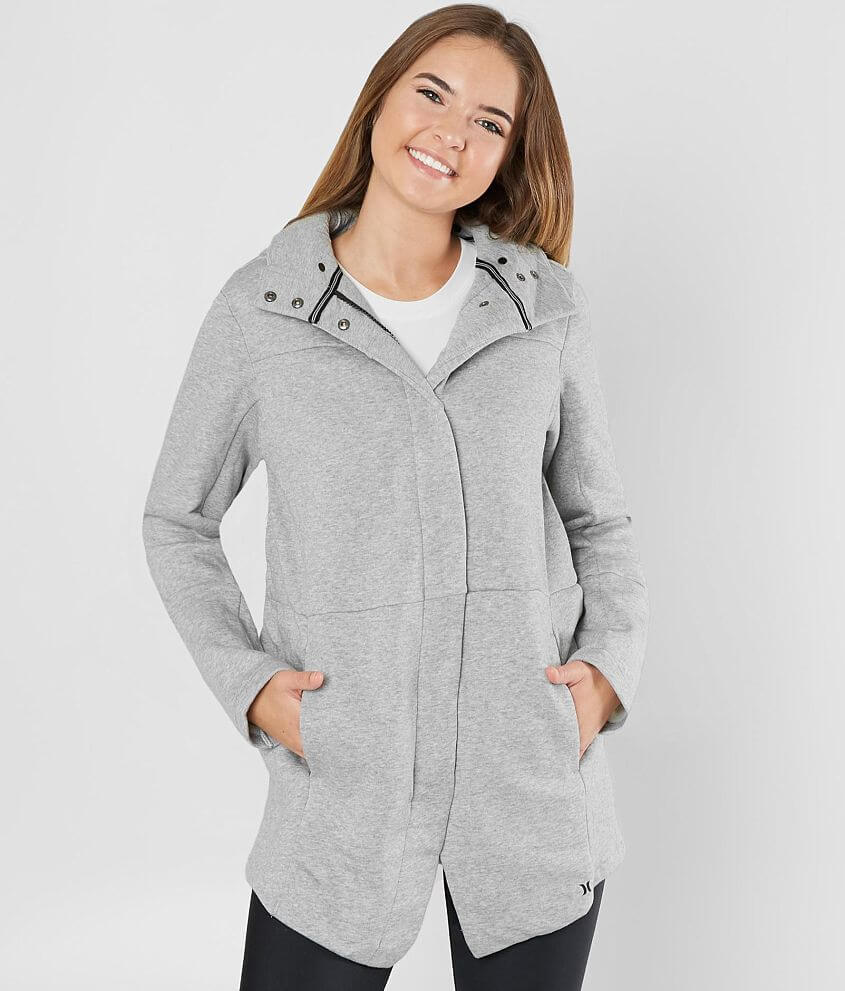 Hurley Winchester Hooded Jacket front view