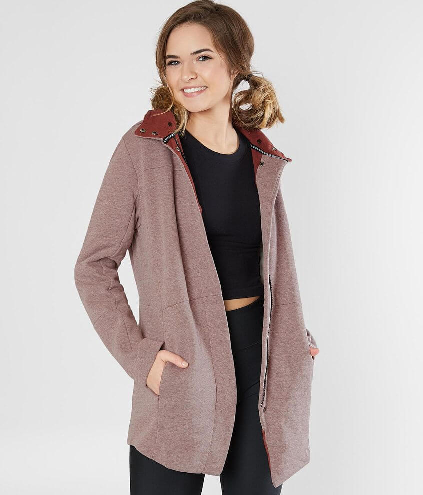 1c2c5175 Hurley Winchester Knit Jacket - Women's Coats/Jackets in British Tan ...