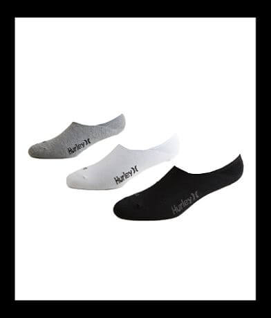 Hurley 3 Pack Dri-FIT Socks