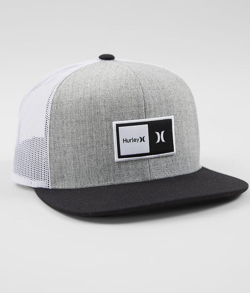 Hurley Natural Trucker Hat - Men's Hats in Cool Grey | Buckle