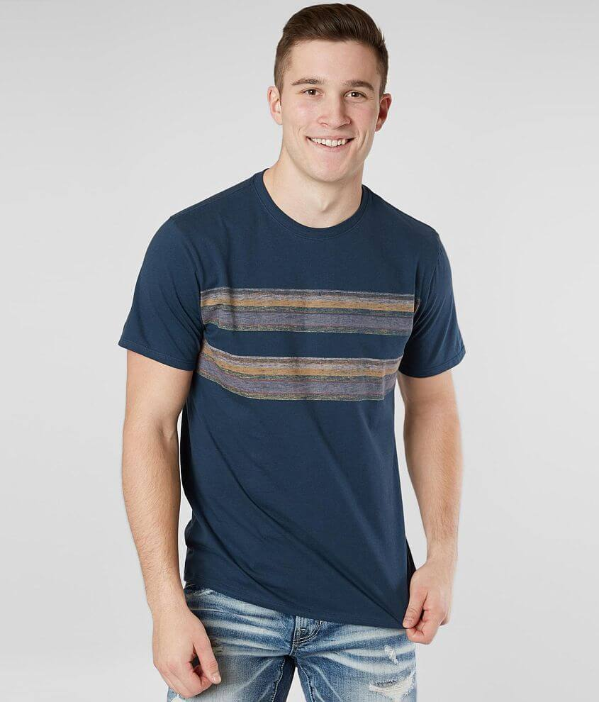 5deabe56f Hurley Pendleton Badlands T-Shirt - Men's T-Shirts in Armory Blue ...