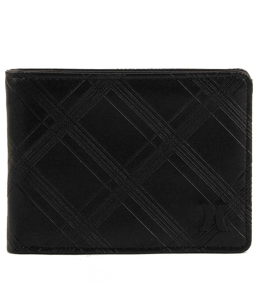 Hurley Embossed Wallet front view