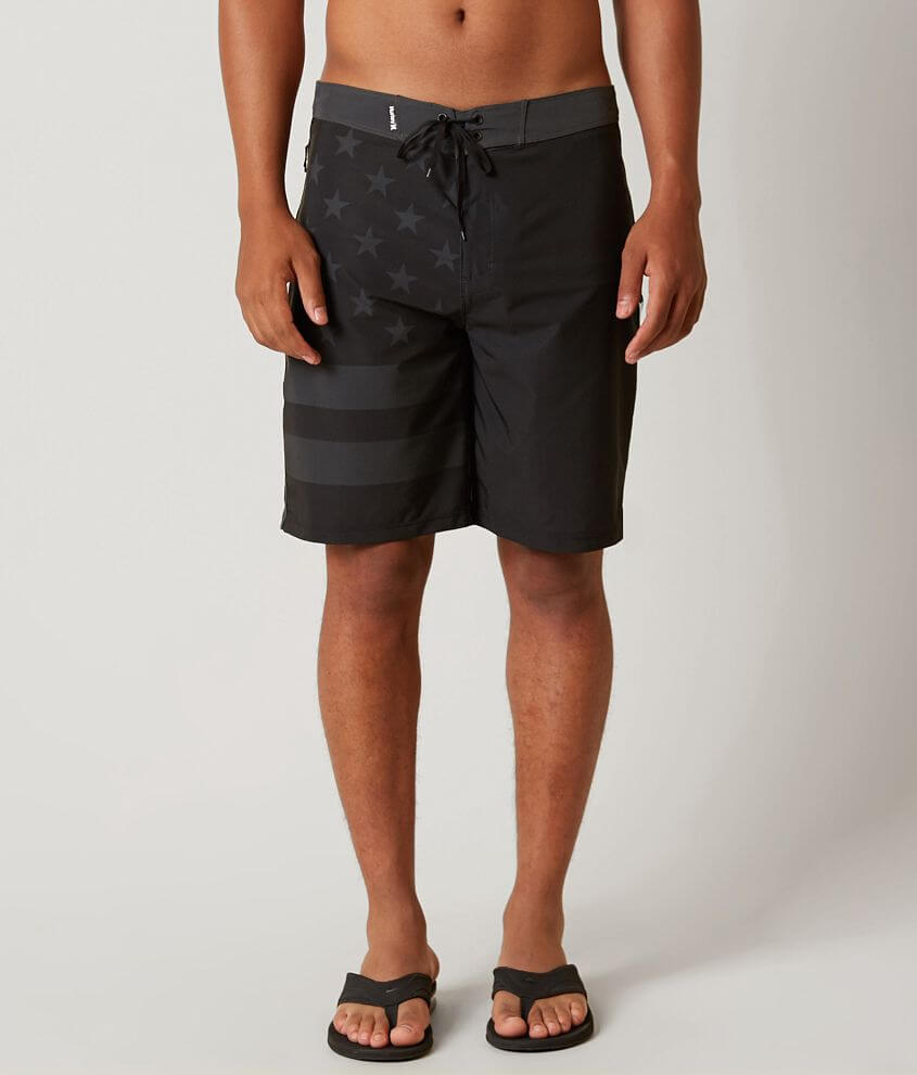 15e7e20671 Hurley Phantom USA Stretch Boardshort - Men's Boardshorts in Black ...