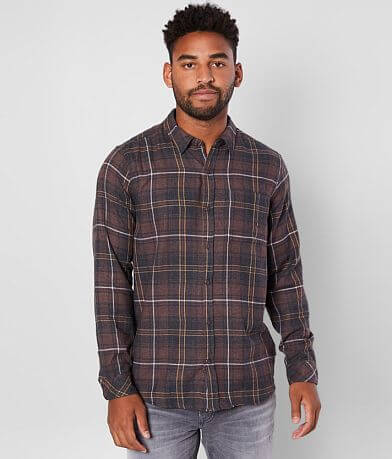 Hurley Vedder Washed Flannel Shirt