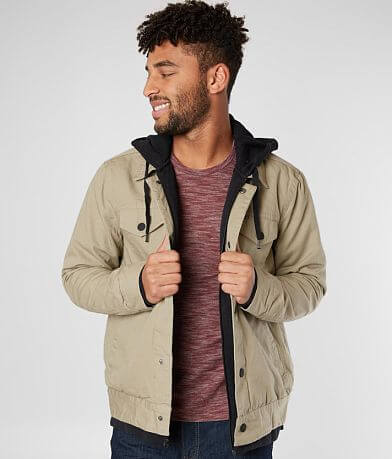 Hurley Truck Stop Hooded Jacket