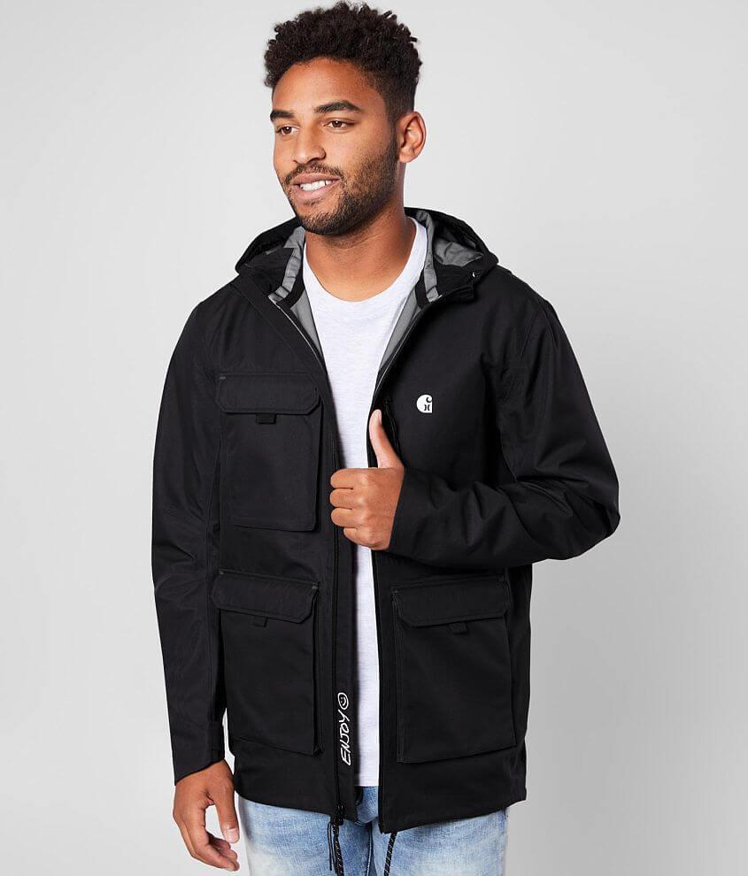 on feet at newest good quality Hurley Hurley x Carhartt Phantom Hooded Jacket - Men's Coats ...