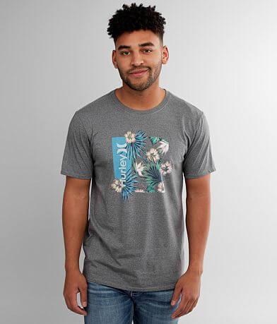 Hurley O&O Floral Box T-Shirt