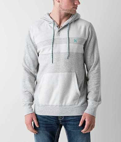 Hurley Vetter Hooded Henley Sweatshirt