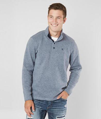 Hurley Quest Mock Neck Sweater