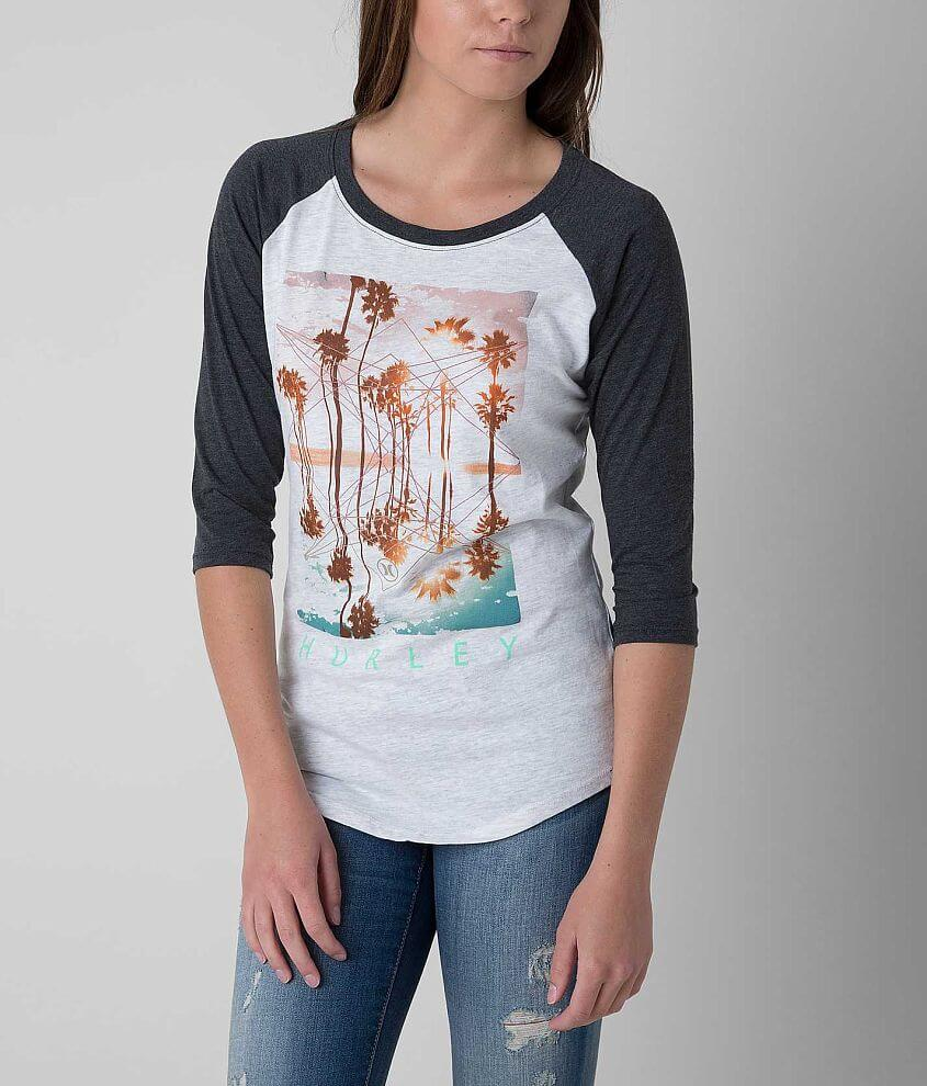 Hurley Tropical Maze T-Shirt front view