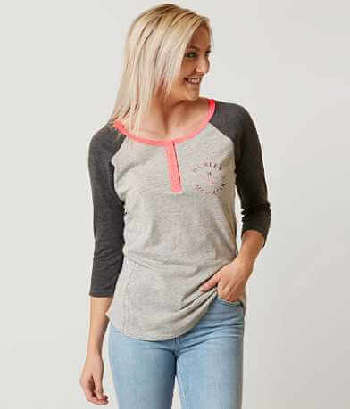 Hurley Grain of Salt Henley Top