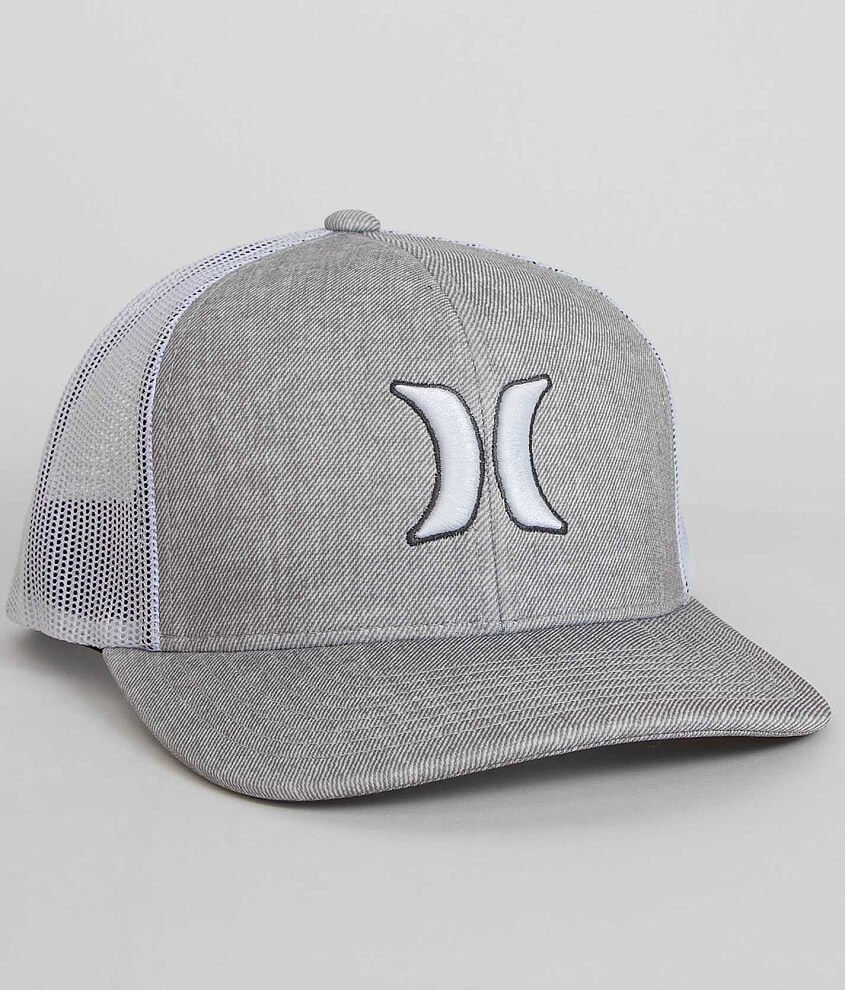 new style 99fee d0ce1 ... free shipping hurley harbor 110 trucker hat mens hats in grey mist  buckle 30ec3 09766