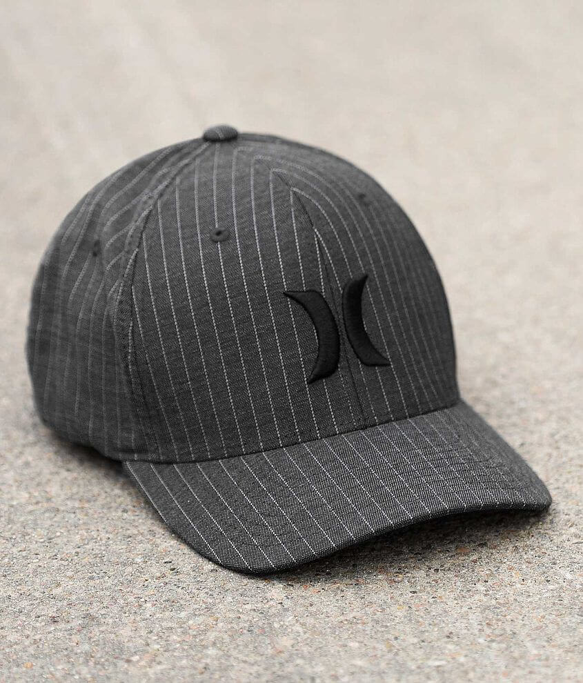 Hurley Blacksuits Stretch Hat front view