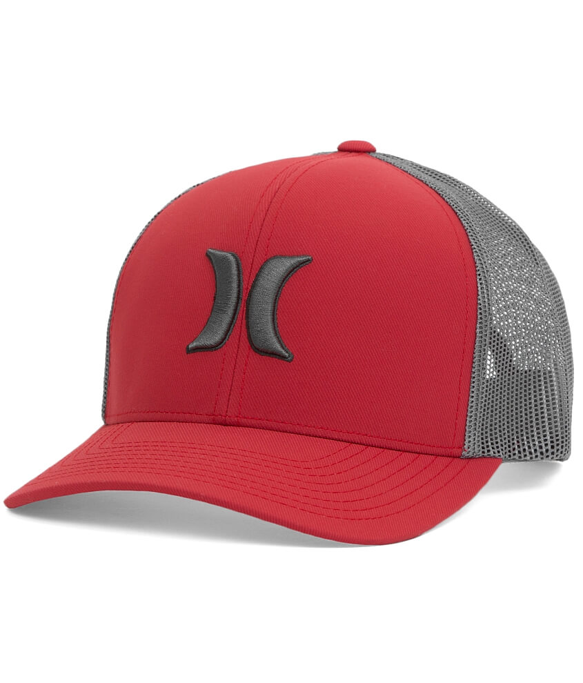 sneakers for cheap 8d619 bcd5f ... release date hurley harbor trucker hat mens hats in valiant red buckle  1fe29 9c6b9