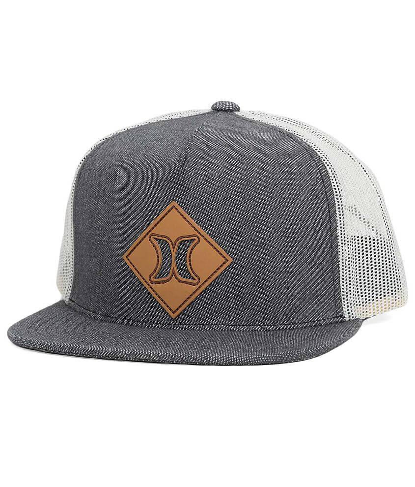 Hurley Diamond Icon Trucker Hat - Men s Hats in Blue Graphite  c428e85302b1