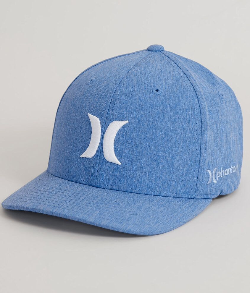 80a3ce1caf3e6 australia hurley phantom boardwalk dri fit stretch hat mens hats in  fountain blue buckle f31ed b055d