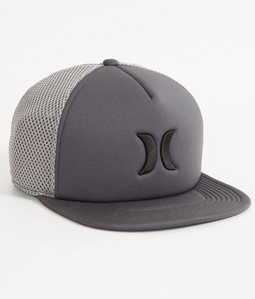 7f6b09e4 Hurley Blocked 2.0 Trucker Hat - Men's Hats in Dark Grey | Buckle