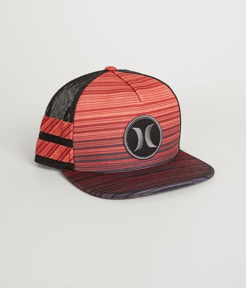 ... promo code for hurley block party trucker hat mens hats in gym red  buckle cf388 73355 7caa9d2545db