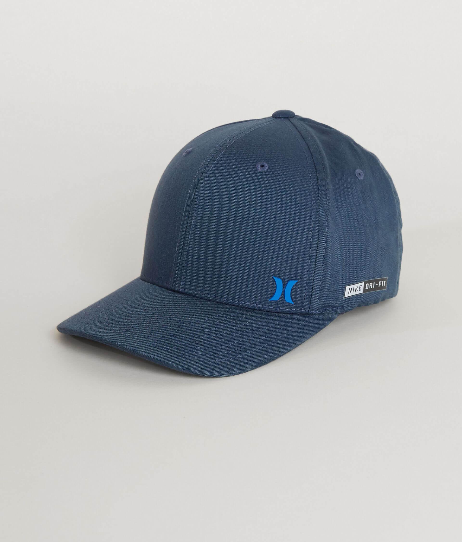 737e66f2b Hurley Flow Dri-FIT Stretch Hat - Men's Hats in Obsidian | Buckle