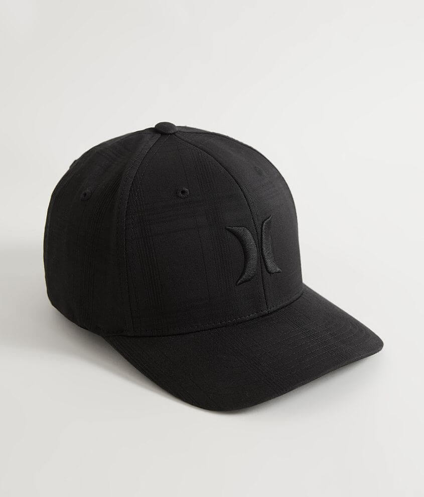 6277a871 Hurley Black Suits Stretch Hat - Men's Hats in Puerto Rico Black   Buckle