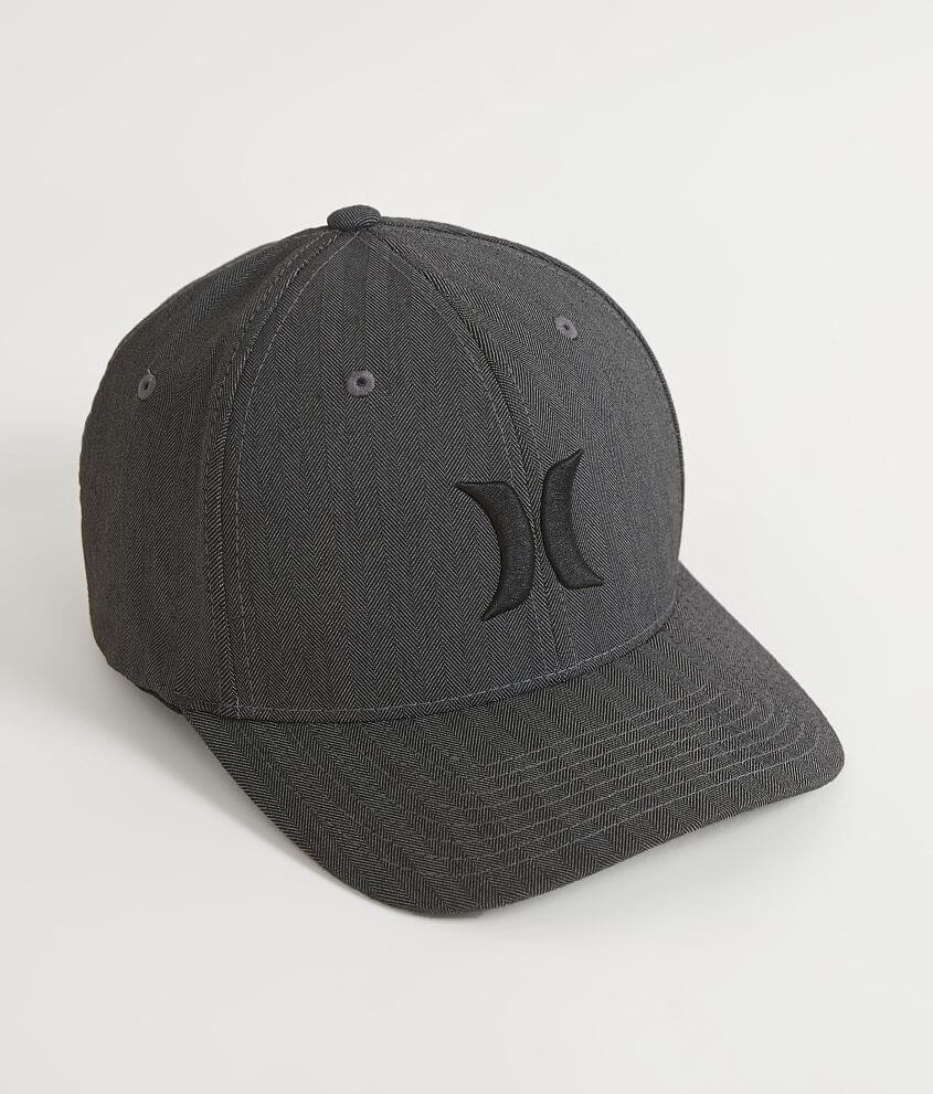 Hurley Black Suits Stretch Hat - Men s Hats in Heather Black ... c7274d0f5616
