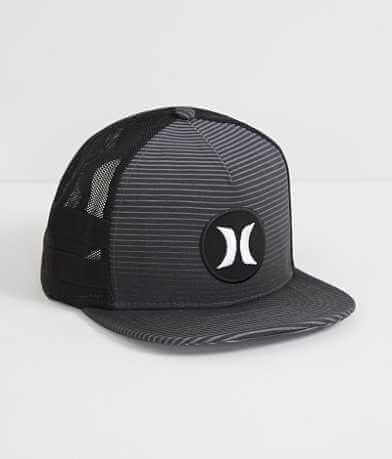 Hurley Motion Stripe Trucker Hat