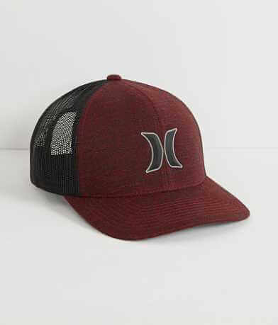 Hurley Rounded Icon Trucker Hat