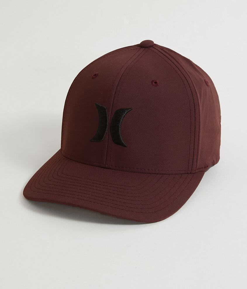 bea4e16b474 Hurley Iconic Dri-FIT Stretch Hat - Men s Hats in Mahogany