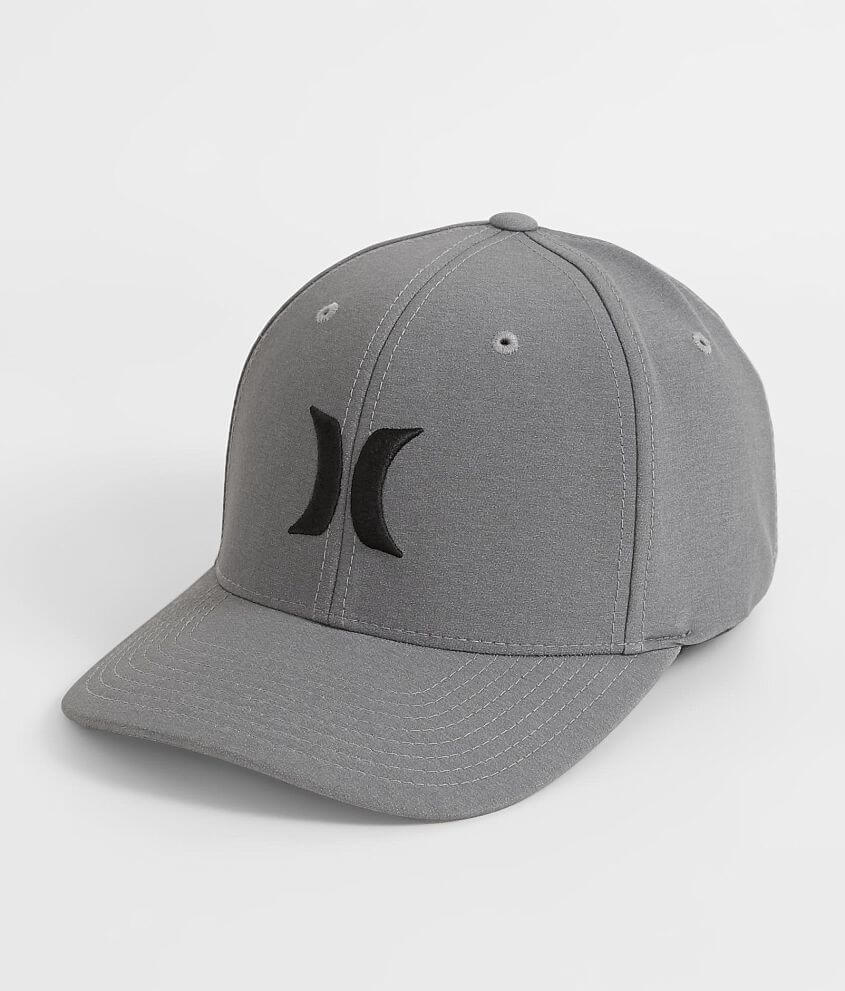 2073403df61 Hurley Iconic Dri-FIT Stretch Hat - Men s Hats in Wolf Grey