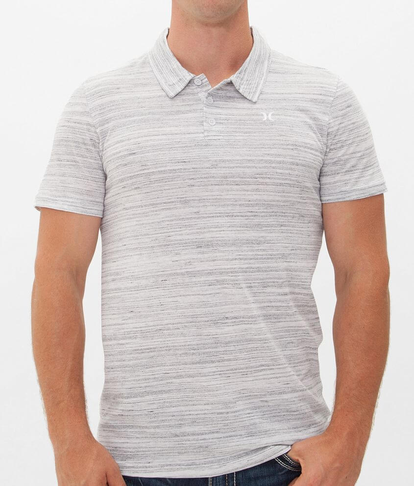 Hurley Marble Feeder Polo front view