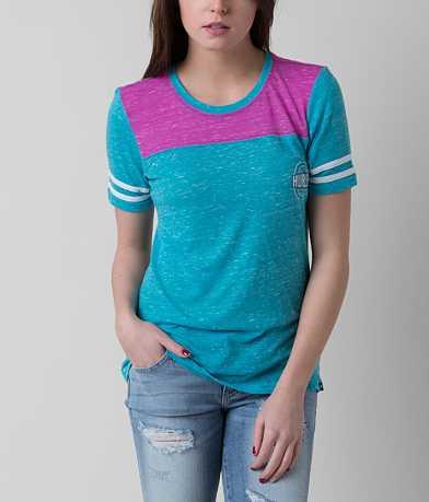 Hurley Badge Stripe T-Shirt