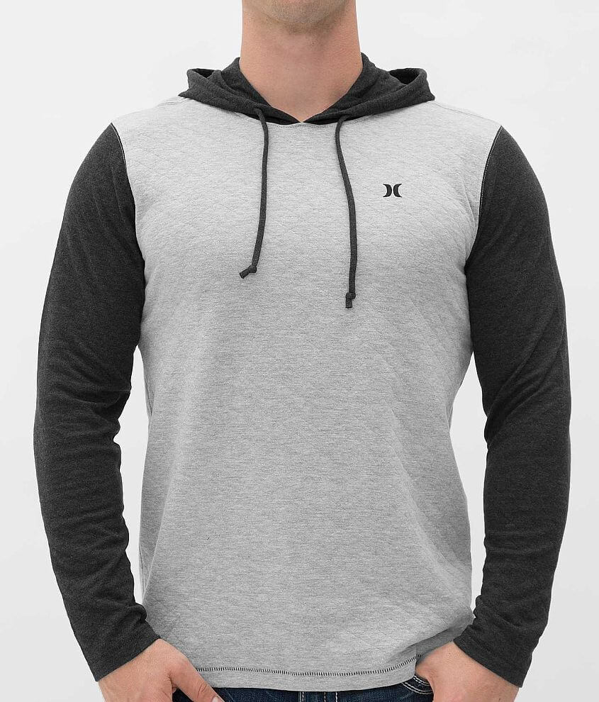 Hurley Quilted Hoodie front view