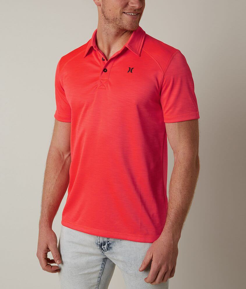 Hurley Lawson Dri-FIT Polo front view