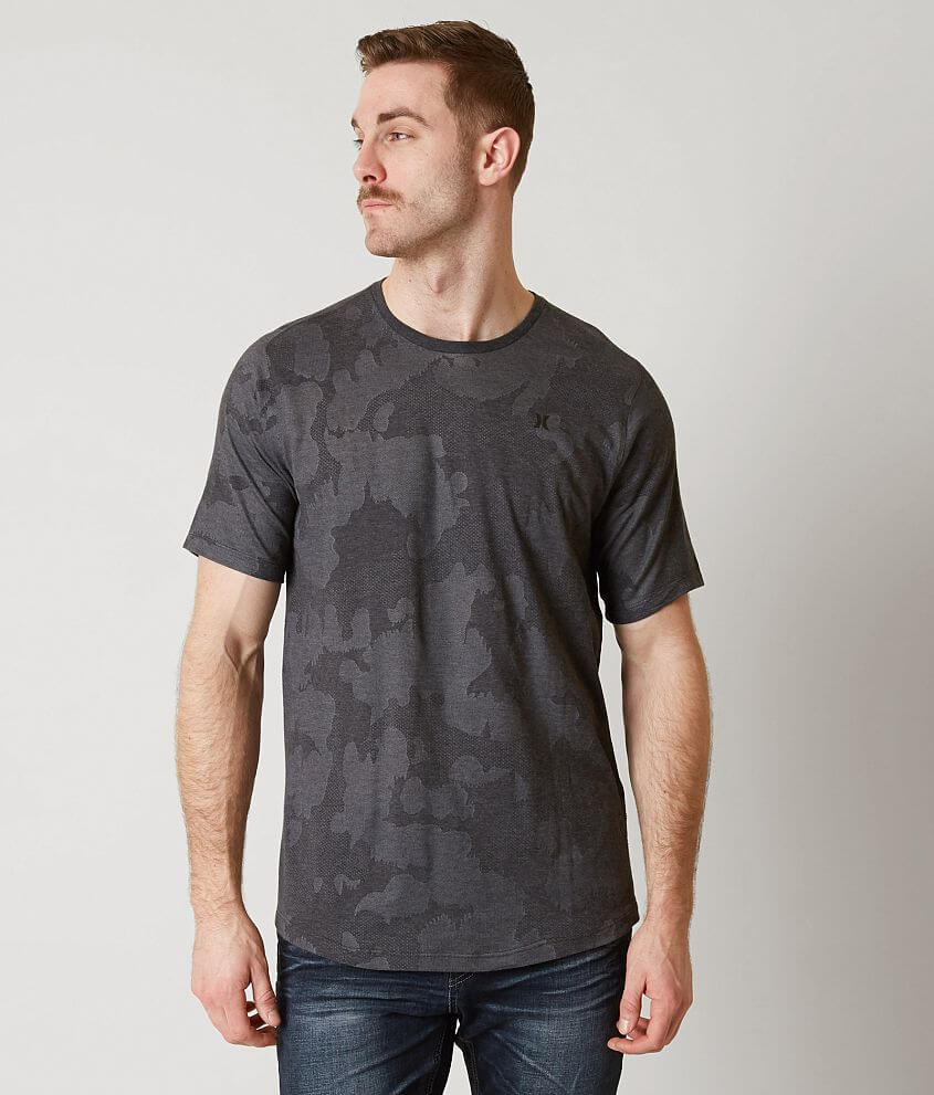 1bf38a9e5 Hurley Washed Dri-FIT T-Shirt - Men's T-Shirts in Black Heather | Buckle