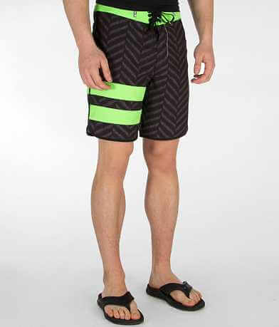 Hurley Block Party Bones Stretch Boardshort