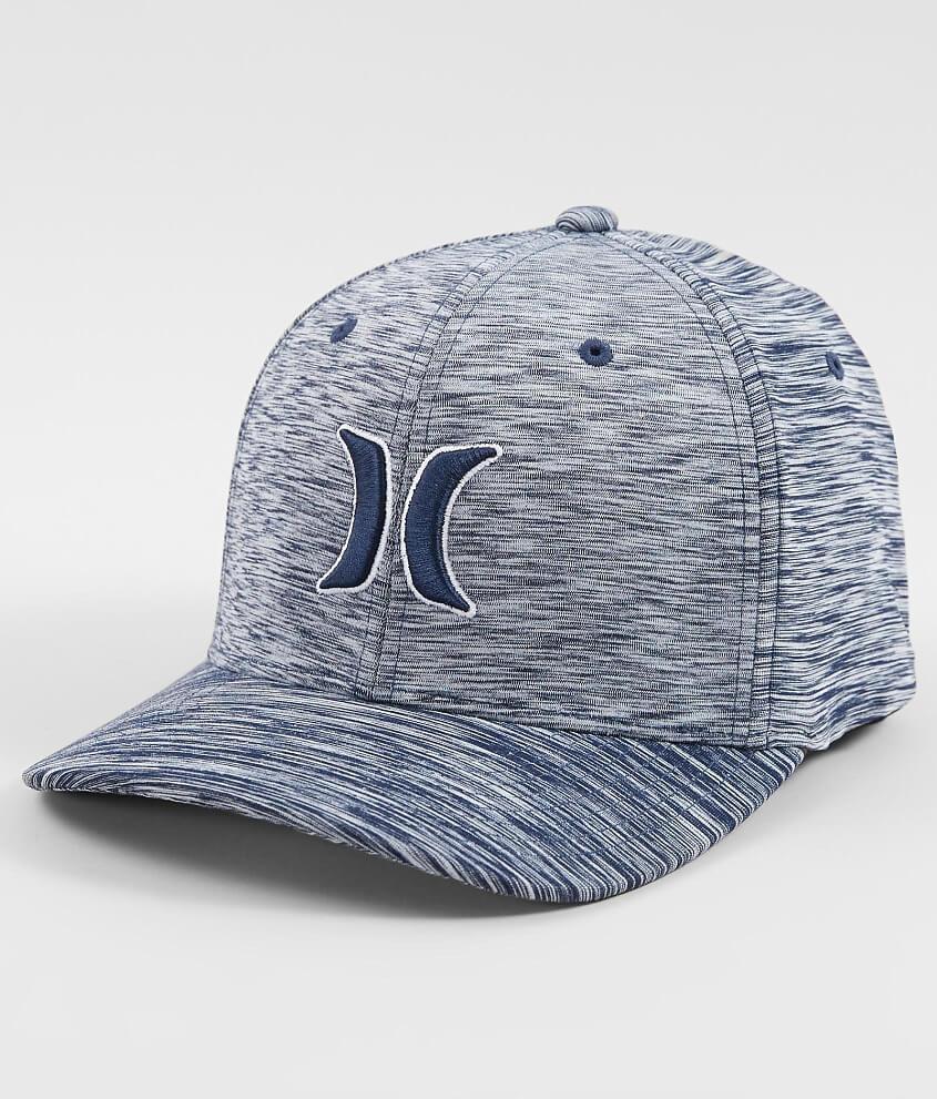 wholesale dealer aafb8 6c36c ... inexpensive hurley casper 2.0 stretch hat mens hats in pure platinum  true navy buckle c43a6 bfa2a