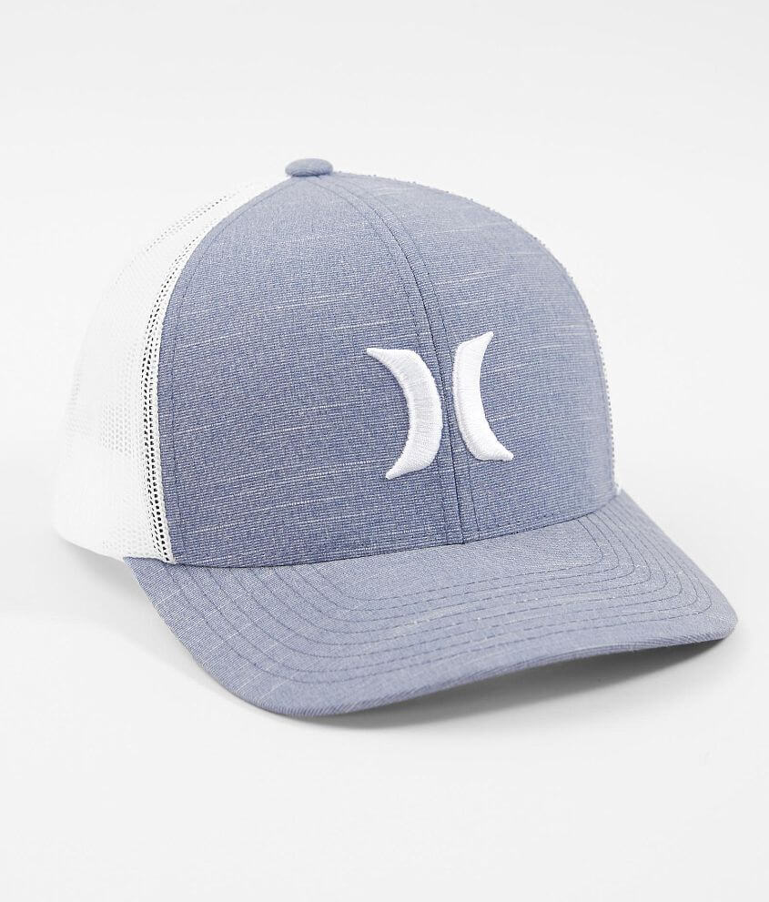 online store 58e34 9751c ... low price hurley harbor jetty stretch trucker hat mens hats in obsidian  buckle 7c068 61f90