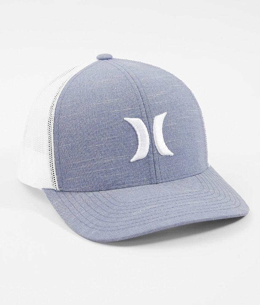 online store 397ec 4b8eb ... low price hurley harbor jetty stretch trucker hat mens hats in obsidian  buckle 7c068 61f90