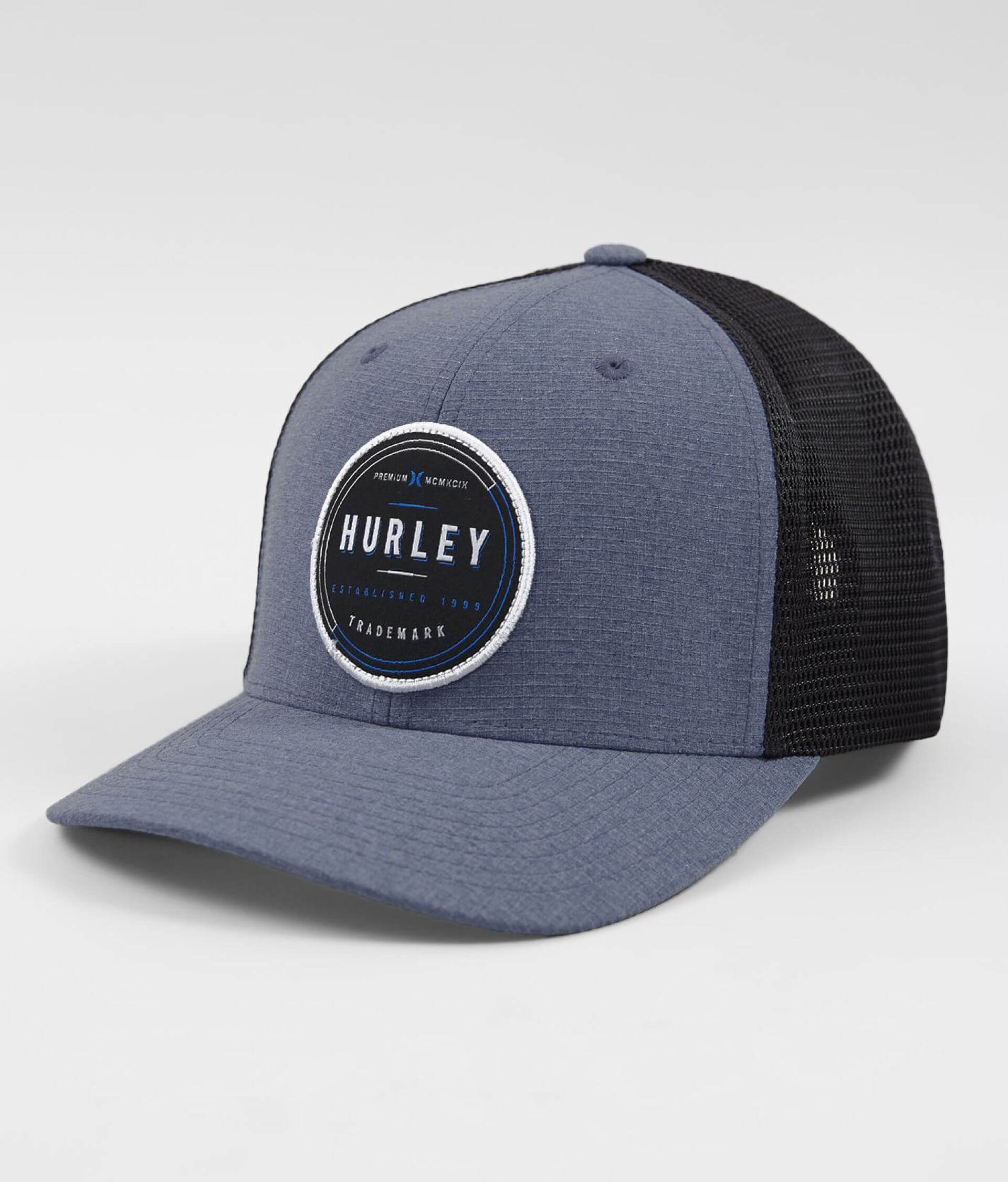 Hurley Oswego Trucker Hat - Men s Hats in Obsidian  76844b073635