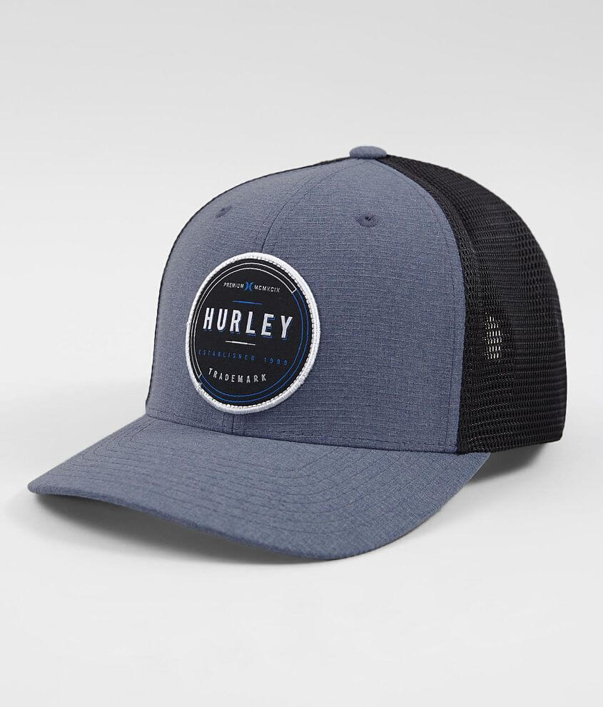 78f0a7e2ac72d Hurley Oswego Trucker Hat - Men s Hats in Obsidian
