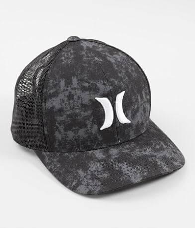 Hurley Rip Dye Trucker Hat
