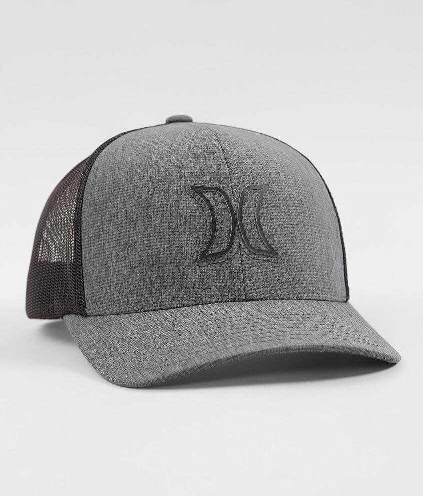 Hurley Volume Flexfit Trucker Hat - Men's Hats in Black | Buckle
