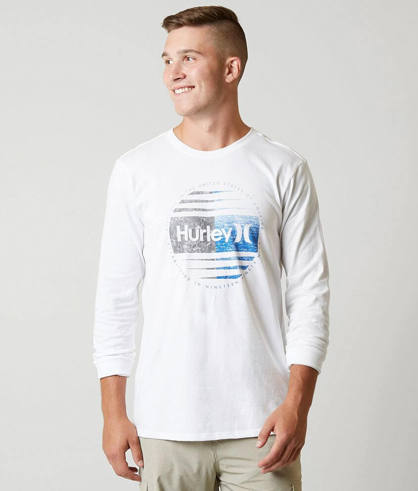 Hurley Global T-Shirt front view