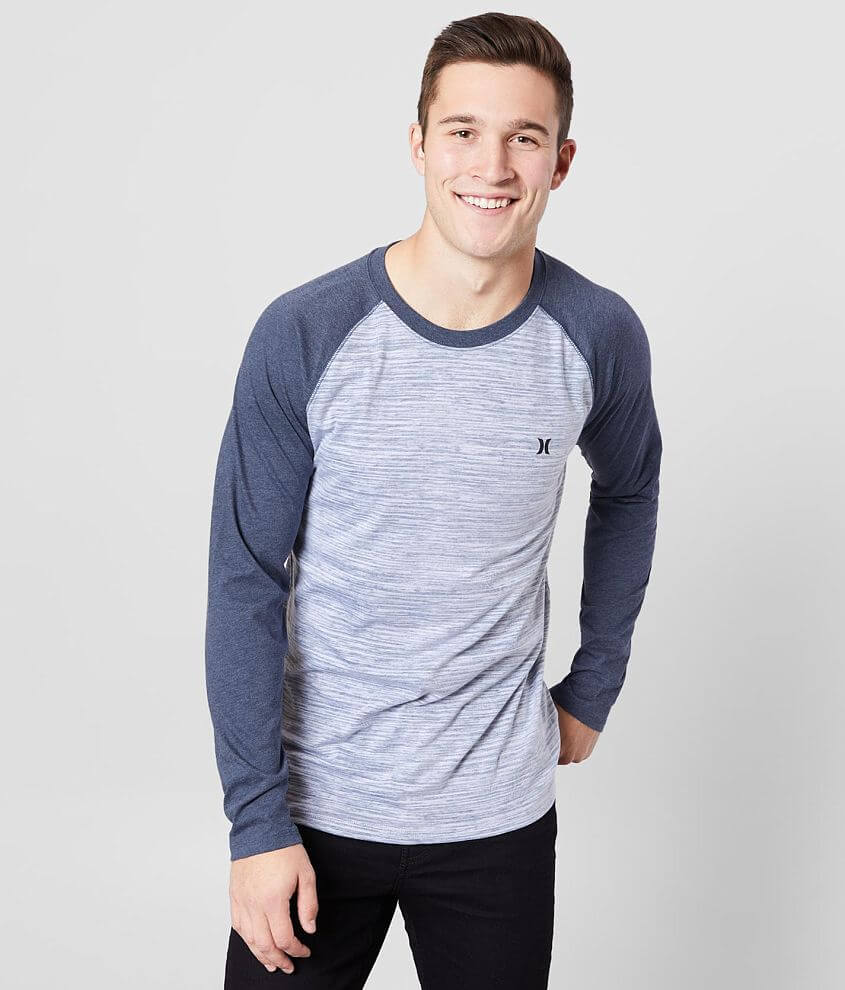 Hurley Icon Splintered T-Shirt front view