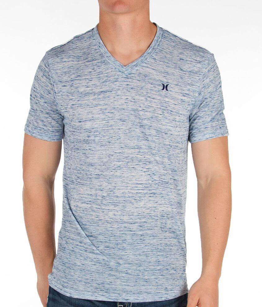 Hurley Basic V-Neck T-Shirt front view