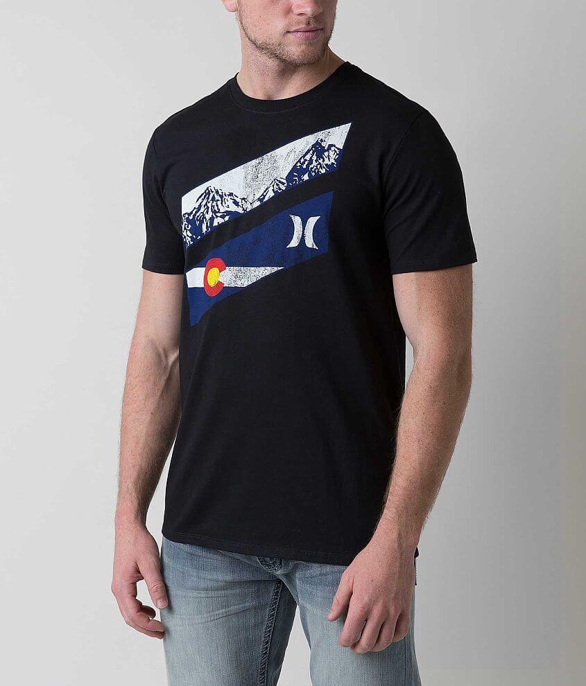 Hurley Colorado Slash T-Shirt front view