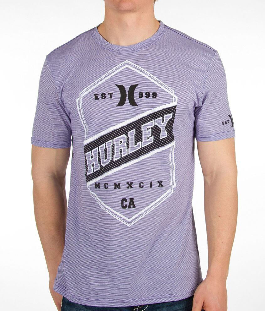 Hurley Straight In Line T-Shirt front view