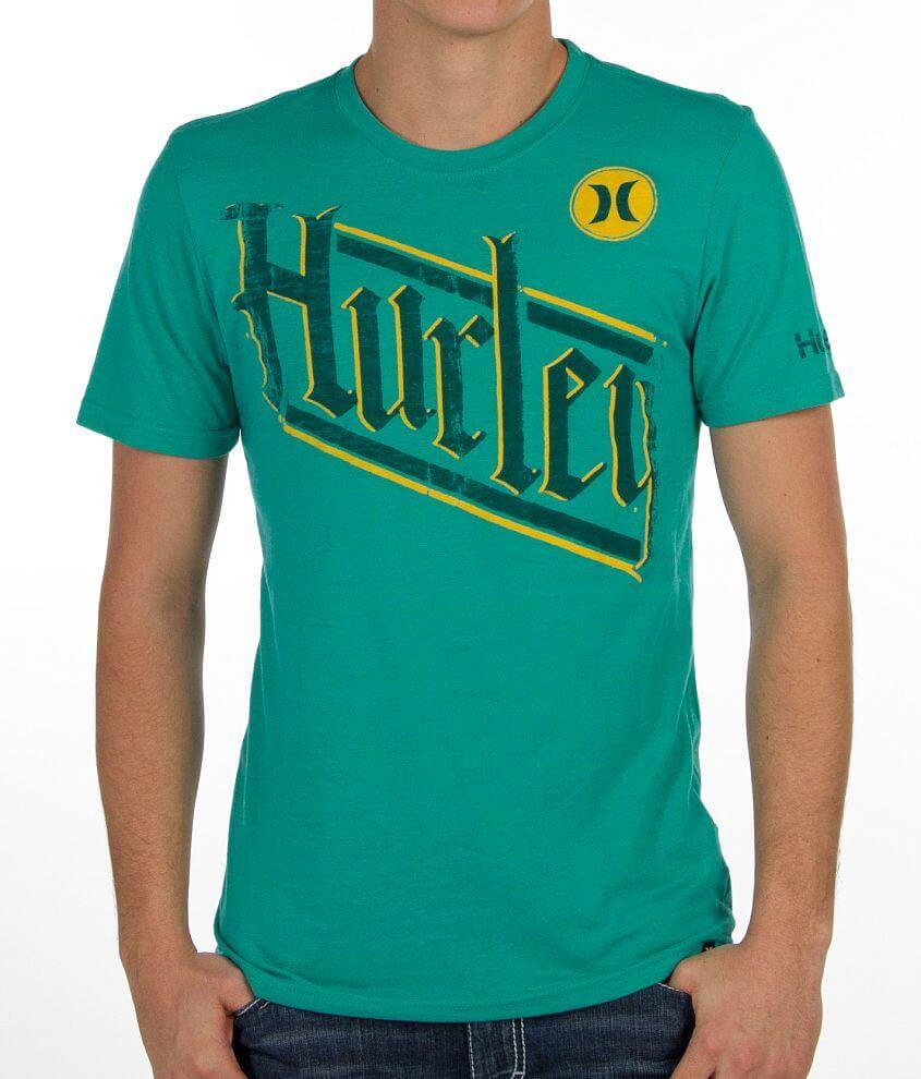 Hurley Slantek T-Shirt front view