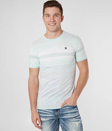 Hurley Splintered Stripe T-Shirt